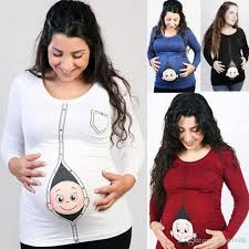 maternity clothes online maternity printed t shirts tops casual pregnancy