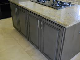 gray brown stained kitchen cabinets grapevine cabinets a unique gray cabinet finish grapevine