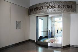 the berman reflection room located pre security international
