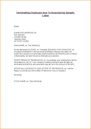 proper termination letter from employer u2013 letter format
