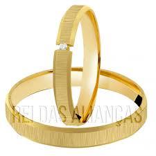 Famosos Alianças de Noivado ou Casamento Diferentes Cód. 162 | Rei das  &KW87