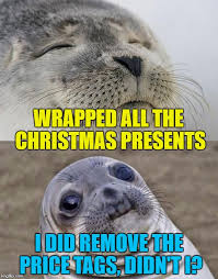 Wrapping Presents Meme - the annual worry imgflip