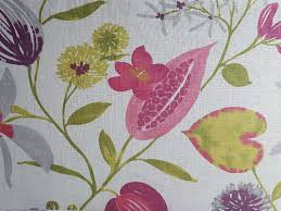 Home Decor Designer Fabric by Upholstery Fabric Pink And Green Floral Home Decor Fabric