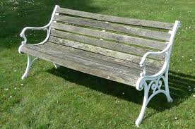 Rustic Outdoor Bench by Vintage Garden Patio Bench U2013 Homyxl