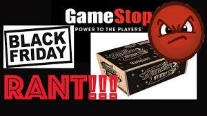 gamestop black friday gamestop black friday funko mystery box rant youtube