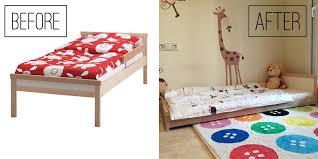la perfecta cama montessori en ikea