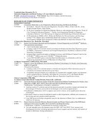 Biologist Resume Sample by Page 1 Of 3 Investment Research Analyst Financial Investment