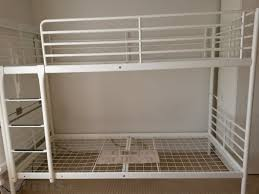 Bunk Bed Frame Tromsosvarta From Ikea White For Sale In Sandyford - Tromso bunk bed