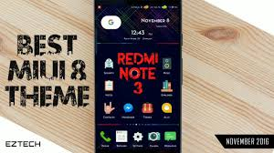 miui theme zip download best miui 8 theme ever specially for redmi note 3 youtube