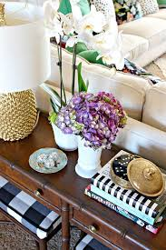 Happy New Year Room Decorations by 27 Best Styling A Sofa Table Images On Pinterest Sofa Tables