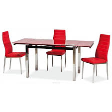 Glass Extendable Dining Table And 6 Chairs Glass Dining Table With Leather Chairs Home Design Hay Us