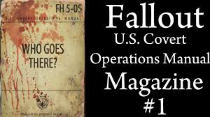 fallout 4 u s covert operations manuel magazine 1 fort strong