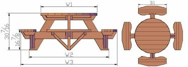 Woodworking Plans And Project Ideas Octagon Picnic Table Plans by Round Picnic Table Plans Free Picnic Table Plans For The Home