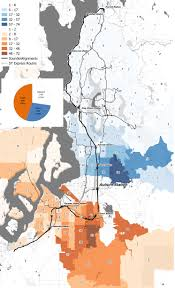 Tacoma Zip Code Map by Blog Spatialities
