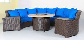 Curved Outdoor Sofa by Patio Resort Lifestyles Archives Outdoor Furniture Store In