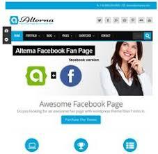 business html5 facebook template amazing facebook templates