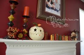four seasons of mantel decorating ideas fall harvest clipgoo idolza