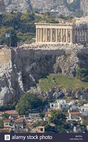 Top Flags Of The World Flag Of Greece On Top Of The Acropolis Of Athens Griechische