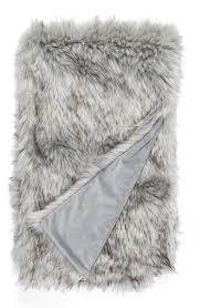 Fox Fur Blanket Nordstrom At Home Fox Faux Fur Throw Blanket Nordstrom