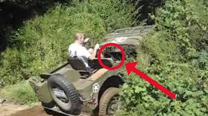 russian jeep ww2 wwii willys jeep on hill fail youtube