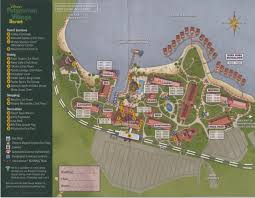 Walt Disney World Resorts Map by Review Disney U0027s Polynesian Village Resort