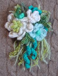 Turquoise Corsage Crochet Corsage Turquoise By Meekssandygirl On Deviantart