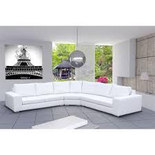 canap 6 places cuir meublesline canapé d angle design simili cuir california noir et