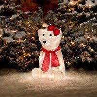 pre lit polar decorations polar bears and