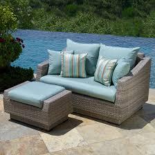 blue wicker patio furniture furniture designs