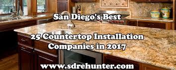 san diego s best 25 countertop installation companies in 2017
