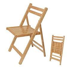 chaise pliante cuisine sobuy fst07 n 100 bambou naturel chaise pliable chaise de