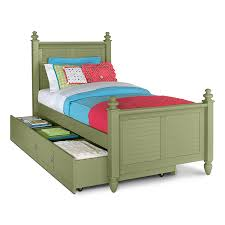 White Single Bed With Storage White Wooden Single Bed With White Brown Stripped Bed Sheet Plus