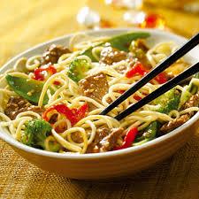 comment cuisiner des nouilles suzi wan nouilles sautées au bœuf