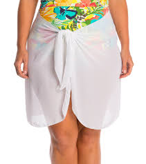 American Flag Plus Size Shorts Dotti Plus Size Sarong So Right Short Pareo At Swimoutlet Com
