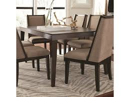 rectangular dining room tables with leaves najarian cascade contemporary rectangular dining table with one