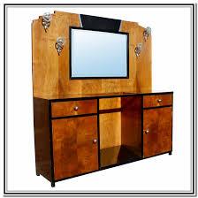 new art deco oak 2 door bathroom vanity unit with jazz musician