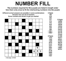 number fill it in puzzles pinterest numbers math worksheets