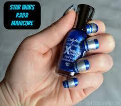 star wars nail art party with sally hansen and walgreens nail