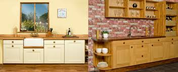 Solid Wood Shaker Kitchen Cabinets by Base Cabinets Belfast Sink Unit Solid Oak Worktop Upstand And