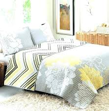 Gray And Yellow Crib Bedding Yellow And Gray Bedspreads Mustard Comforter Gray And Yellow