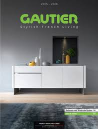 catalogs gautier stylish french living 2015 2016