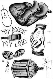 harry styles temporary tattoos