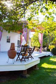 curtain call how to make easy diy curtains for outdoors the