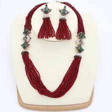 necklace flower handmade images Elegant enamel turkish women bead resin necklace flower handmade jpg