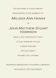 wedding ceremony invitation wording invitation sle wording wedding lovely wedding ceremony