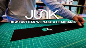 headband brands how fast can junk brands make a headband with evan childs