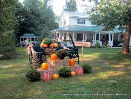 Fall Garden Decorating Ideas Fall Decorating Ideas For Your Front Porch