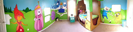 10 Year Old Bedroom by I Made An Adventure Time Themed Room For A 10 Year Old More In