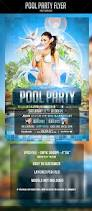 halloween party flyers templates pool party flyer template by odin design graphicriver
