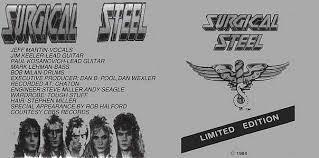 surgical steel band surgical steel surgical steel encyclopaedia metallum the